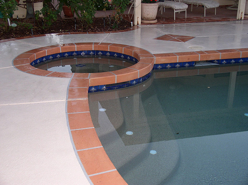 Affordable ACC Bordered Pool & Spa