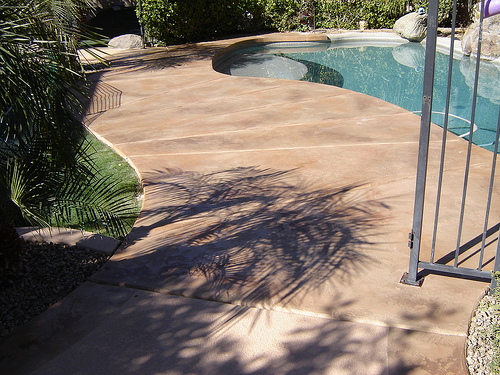 Solid Stone Decks Installed by Advanced Deck Designs