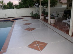 Stone Border Deck Designs by Advanced Deck Designs
