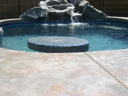Acrylic Solid Stone Decks by Advanced Deck Designs