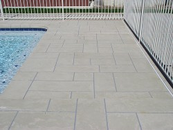 Affordable Stone Tile Decks by Advanced Deck Designs